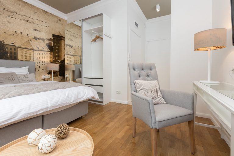 Apartament Wyspiański salon