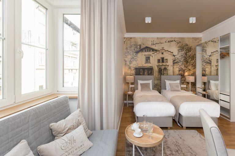 Pokój w apartamencie Kossak
